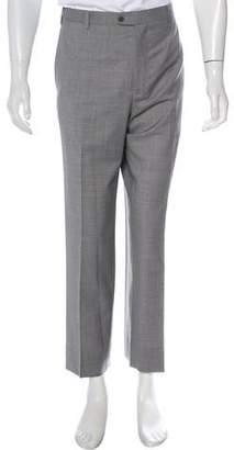 Zanella Pleated Wool Pants