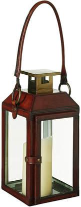 OKA Saddle Leather Lantern, Small