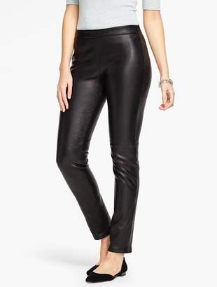 Talbots Leather Legging