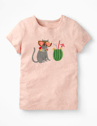 Boden Sequin Animal T-shirt