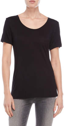 The Kooples Basic Slub Jersey Tee