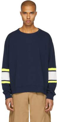 Facetasm Navy XXL Rib Sweatshirt