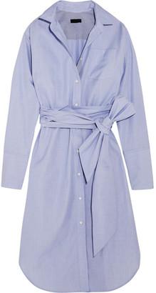 J.Crew - + Thomas Mason Sybil Cotton Dress - Blue $300 thestylecure.com