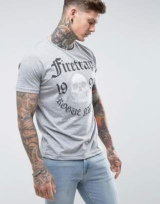 Firetrap Graphic Skull T-Shirt