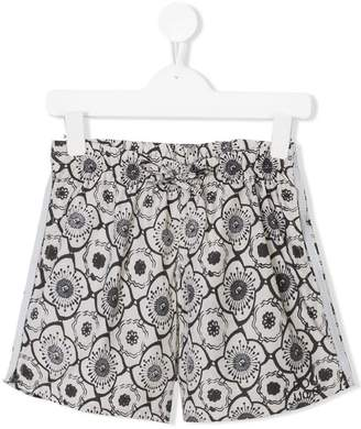 Douuod Kids floral print shorts