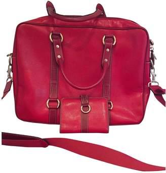 Lancel Patent leather clutch bag