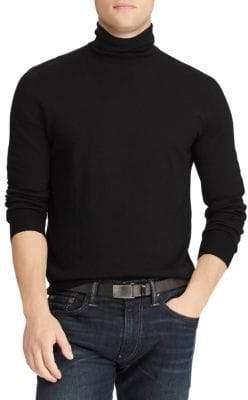 Polo Ralph Lauren Regular-Fit Merino Wool Turtleneck Sweater