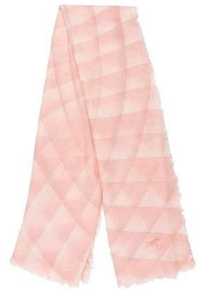 Chanel Woven Printed Shawl
