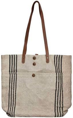 Vintage Addiction Jute Tote Bag