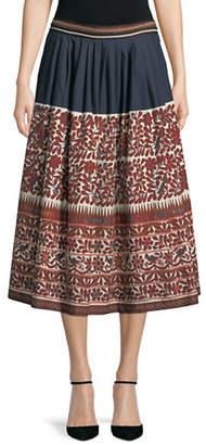 Max Mara Sassari Printed Midi Skirt