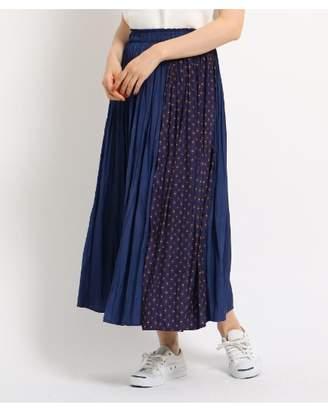 Dessin (デッサン) - Ladies [洗える][ウエストゴム]ライトパウダーサテンスカート