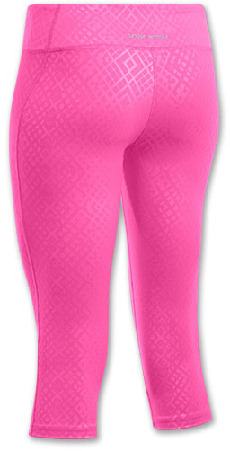 Under Armour Women's HeatGear Sonic Printed Capris Shoe