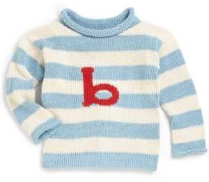 MJK Knits Baby's, Toddler's& Kid's Personalized Letter Sweater