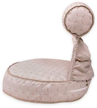 Preggie Pouffe® Maternity Soft Seat in Taupe Rings Print $49.99 thestylecure.com