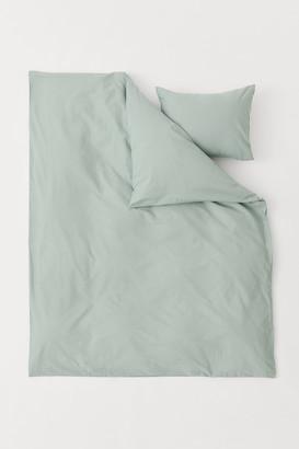 H&M Cotton Duvet Cover Set
