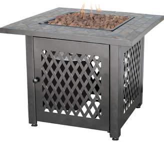 Uniflame Steel Propane Fire Pit Table