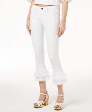 1 STATE 1.State 1.state Tiered Flared Jeans