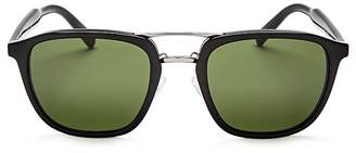 Prada Brow Bar Square Sunglasses, 54mm