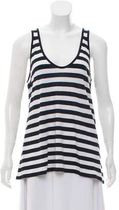 Piamita Striped Sleeveless Top