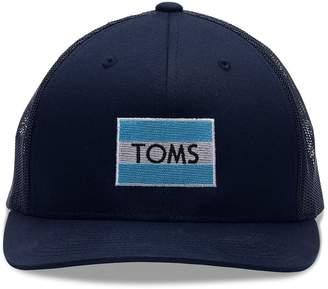 TOMS Flag Navy Trucker Hat