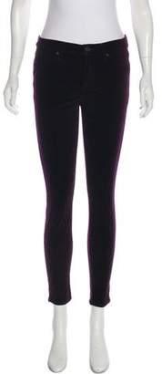 Hudson Velvet Skinny Pants