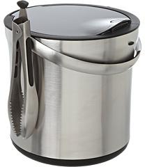 OXO SteeL® Ice Bucket and Tongs Set