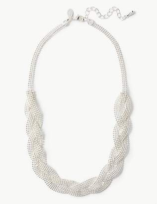M&S Collection Silver Plated Sparkle Necklace