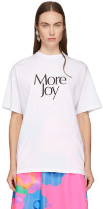 Christopher Kane White More Joy T-Shirt
