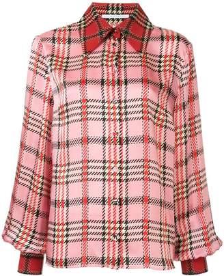 Emilia Wickstead tartan print shirt