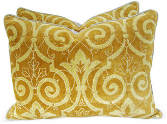 Scalamandre Velvet Fabric Pillows