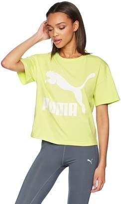 Puma Women's Classics Logo Tee Shirt