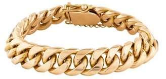 18K Cuban Link Bracelet