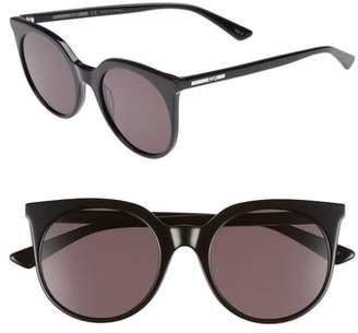 McQ 52mm Cat Eye Sunglasses