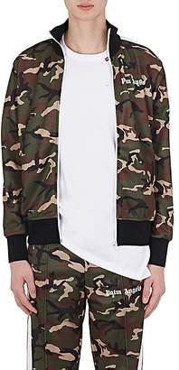 Palm Angels Men's Striped-Sleeve Track Jacket