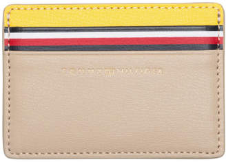 Tommy Hilfiger AW0AW07064903 Turnlock Pocket Credit Card Holder
