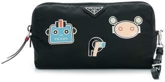 Prada robot makeup bag