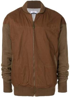 Publish two-tone bomber jacket