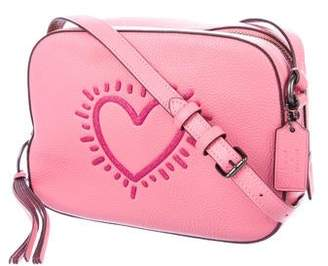 Keith Haring Coach 1941 x Heart Camera Crossbody Bag
