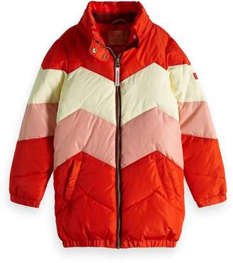 Scotch & Soda Color Block Jacket