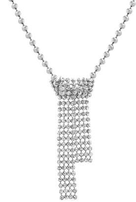 Steve Madden Casted Crystal Necklace