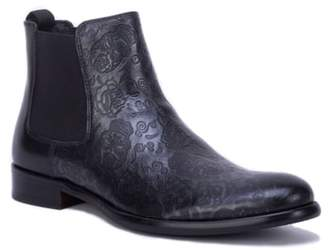 Robert Graham Embossed Chelsea Boot