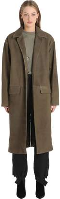 Yeezy Suede Leather Trench Coat