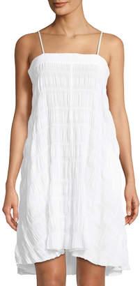 Skin Naomi Gauze Cotton-Stretch Nightgown