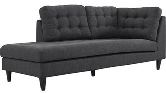 Langley Street Warren Upholstered Right Arm Chaise Lounge Langley Street
