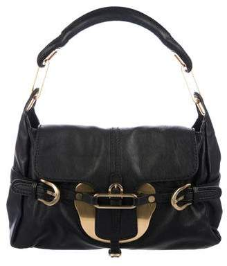 Jimmy Choo Leather Tulita Shoulder Bag