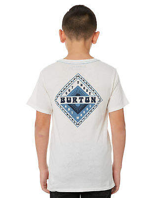Burton New Boys Kids Boys Anchor Point Tee White