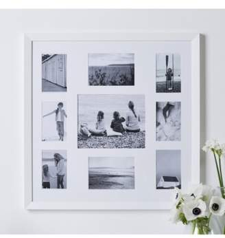 The White Company Nine-Aperture Wooden Picture Frame