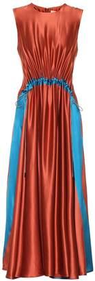Roksanda Silk-crepe dress