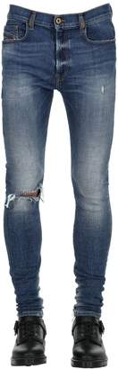 Diesel 15cm Skinny Cotton Denim Jeans