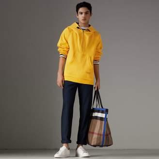 Burberry Oversized Sweatshirt Half-zip Hoodie